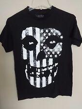 Vintage Misfits Band Official Merchandise Skull T-Shirt Size Men Small