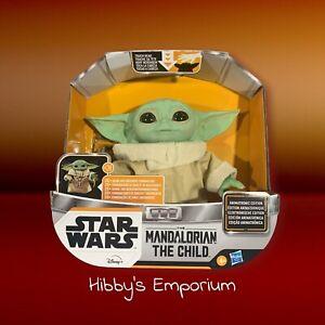Star Wars Mandalorian The Child Baby Yoda ANIMATRONIC Toy Disney Hasbro IN HAND!