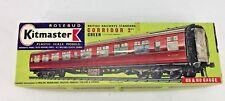 Rosebud Kitmaster British Railway Standard Corridor 2nd Green HO Scale Model Kit
