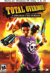 Total Overdose A Gunslinger's Tale in Mexico PC Game Win XP Vista 7 8 10