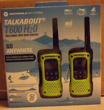 New! Motorola Talkabout T600 H2O Two-Way Radios