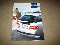 Fiat Stilo Multi Wagon Prospekt Brochure prospetto von 1/2003, 8 Seiten