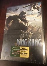 New! King Kong Dvd 2005 Widescreen W/Target Exclusive Collectible Comic Book
