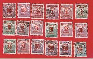 Hungary #J76-J93 VF used  Postage Due  Free S/H