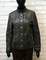 Giubbino ICEBERG Donna Taglia M Giubbotto Giacca Jacket Pelle Woman Coreano
