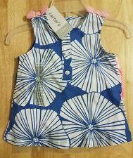 Carter's - Girls - 2 Piece Short Set - Size 12M - Peach, Blue, White - NWT
