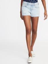NWT women's Old Navy Distressed Boyfriend Cut-Off Jean Shorts size 4