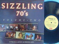 Sizzling 70's Vol2 ORIG OZ 2LP NM 85 Healing Force AC/DC Stevie Wright La De Das