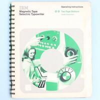 IBM Magnetic Tape Selectric Typewriter Two Tape Station Operating Instructions