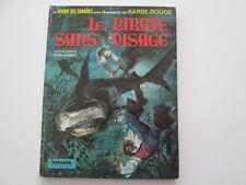BARBE ROUGE EO1972 TBE LE PIRATE SANS VISAGE CHARLIER HUBINON