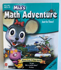 NEW SEALED 2001 Mia's Math Adventure Just In Time! Win & Mac CD-ROM Game Learn