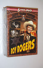 Roy Rogers Collection Happy Trails Theatre New 5 DVD Movie Box Set Evans - NEW