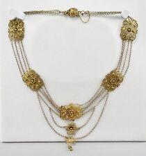 No Stone Silver Necklace/Choker Victorian Fine Jewellery