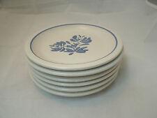 "Vtg Pfaltzgraff YORKTOWNE USA Set of 6-6+"" Salad Bread Dessert Plate Stoneware"