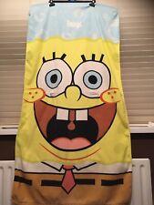 """SpongeBob Squarepants Beach/Swimming Towel Personalised Name """"George"""""""