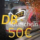 ⭐️🚇 50€ Deutsche Bahn Gutschein 🚇⭐️ (SEHR GÜNSTIG, SEHR SCHNELL)