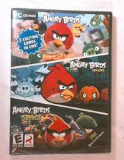 Angry Birds/Angry Birds Seasons/Angry Birds Space (PC, 2012) NEW SEALED