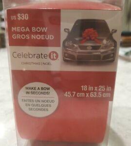 Large Giant Mega Red New Car Birthday Christmas Bow New