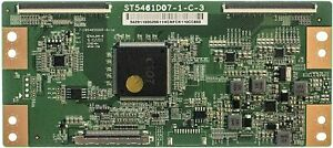 Sharp LC-55P6000U 4K LED TV ST5461D07-1-C-3 T-Con Control Board 34.291100.520