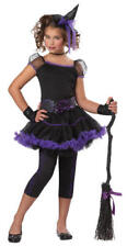 Girls Stardust Witch Purple Ages 4 5 6 Years Halloween Fancy Dress Costume