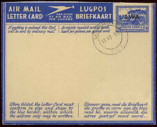 South West Africa 1954, 3d Air Mail Letter Card, Air Letter Used #C19621