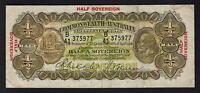 Australia R-8b. (1933) Ten Shillings - Riddle/Sheehan..  Thin Signature..  Fine
