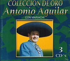 Antonio Aguilar Con Mariachi Coleccion de Oro 3CD New Sealed Nuevo