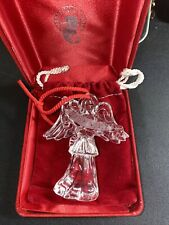 "Waterford Crystal Millennium Angels Christmas Ornament ""Generosity"""
