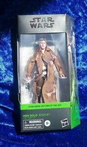 "STAR WARS THE BLACK SERIES | RETURN OF THE JEDI - HAN SOLO [ENDOR] 6"" TOY 