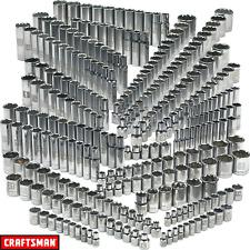 Craftsman 299pc Piece Ultimate Laser Etched Deep & Standard SAE & MM Socket Set