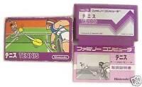 FAMICOM NES TENNIS NINTENDO 1983 JAPAN BOXED