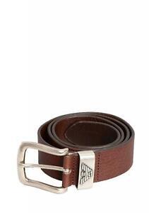 Emporio Armani Mens Y45201-YDD6G Belt In Brown