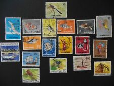 Stamps :  1962+  Singapore fine used.