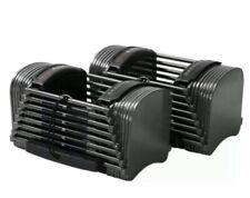 Powerblock Sport 50 10-50 lbs Set of Two Adjustable Dumbells New - SHIPS FAST 💪