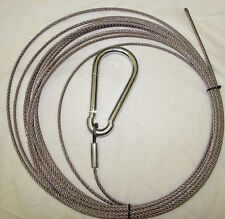 Deer Feeder Cable - 37' with hook
