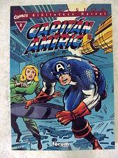 Biblioteca Marvel,Capitan America num.2 Forum