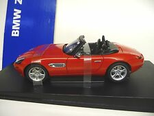 1:18 Autoart BMW z8 ROSSO RED NUOVO NEW