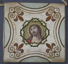 Antiker Kelchdeckel, Bursa, Palla, Vestment, Chasuble, Ornat