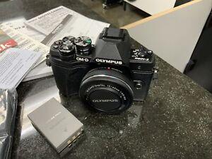 Olympus OM-D E-M10 Mark III Mirrorless Micro Four Thirds Digital Camera - Black