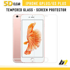 For iPhone 6 PLUS 5D Curved Edge Tempered Glass Film Full Screen Protector Clear