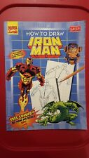 Walter Foster Iron Man drawing book vintage 1997 missing grid paper