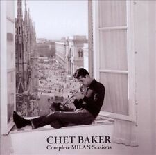 CHET BAKER (TRUMPET/VOCALS/COMPOSER) - THE COMPLETE MILAN SESSIONS NEW CD