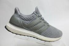 ADIDAS Ultra Boost Grey Sz 9.5 Men Running Shoes