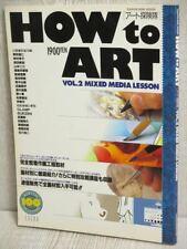 Cómo Art 2 Arte Ilustración revista Nobuteru Yuki libro 1995 KD