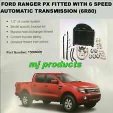 Ford Ranger PX  6 speed  (6r80)  Automatic Transmission oil  cooler kit DIY 1...
