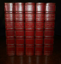 1892 A History of Ireland in the Eighteenth Century 5 Vols COMPLETE by W LECKY