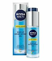 Nivea For Men Active wake-up Sofort Effekt Energy Morning Fix Face Gel 1.69 oz.