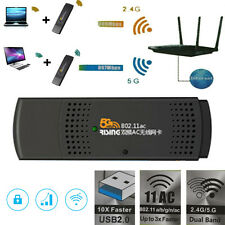 867Mbps USB WiFi Wireless 802.11a/b/g/n Adapter 2.4G/5G Network LAN Card for PC