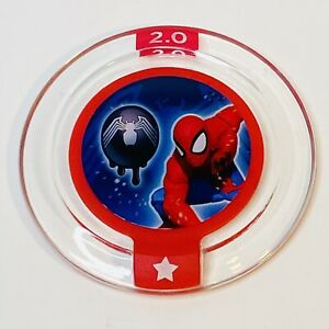DISNEY INFINITY 2.0 Marvel Hero Power Disc Spider Man Alien Symbiote Costume