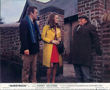 Sunstruck original lobby card Harry Secombe smiling in alley behind house